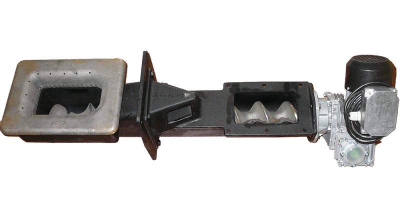 Podajnik żeliwny